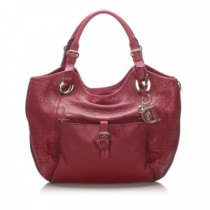 Dior Cannage Leather Tote Bag
