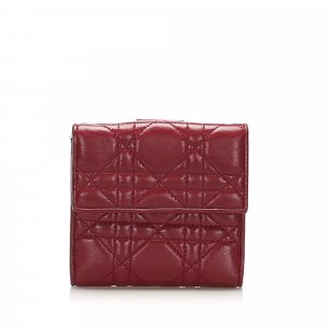 Dior Cannage Leather Wallet