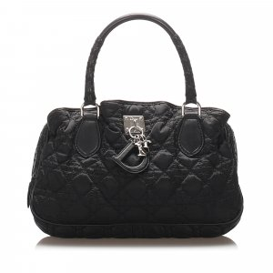 Dior Cannage Lovely Nylon Handbag
