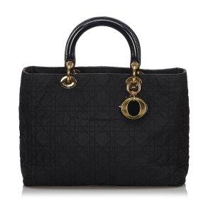 Dior Sac à main noir nylon