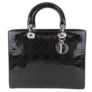 Dior Satchel black imitation leather