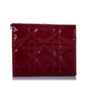 Dior Portafogli rosso Finta pelle