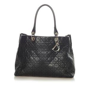 Dior Tote black leather