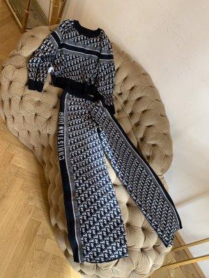 Dior Cashmere/ wool reversible pant set.