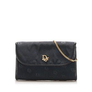 Dior Chain Nylon Shoulder Bag