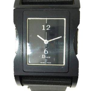 Dior Reloj negro metal
