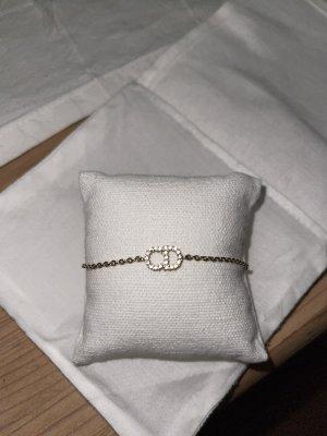 Christian Dior Pulsera color oro-color plata