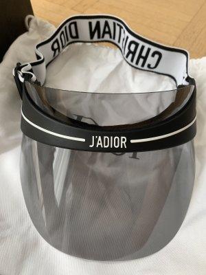 Dior Casquette à visière noir-blanc