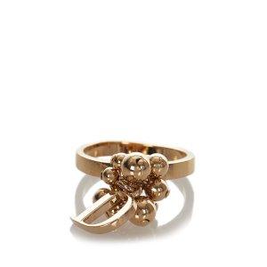 Dior Bague doré métal