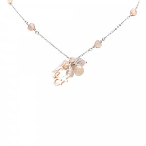 Dior Coral Shell Necklace