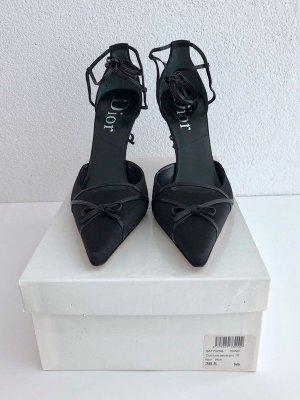 Christian Dior Lace-up Pumps black