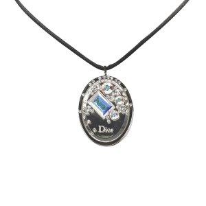 Dior Cristal Boreal Lipgloss Pendant Necklace