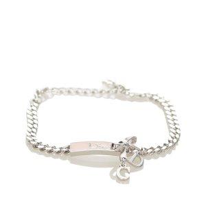 Dior D Logo Charm Bracelet