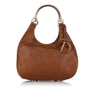 Dior Shoulder Bag light brown leather