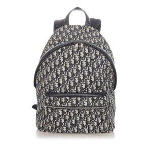 Dior Dior Oblique Canvas Backpack