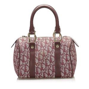 Dior Dior Oblique Canvas Boston Bag