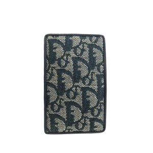 Dior Dior Oblique Canvas Card Holder