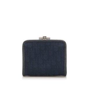 Dior Wallet dark blue