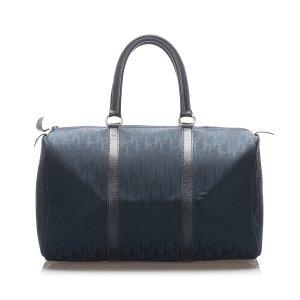 Dior Bolso de viaje azul oscuro