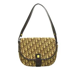 Dior Shoulder Bag dark brown