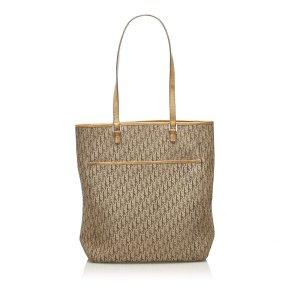 Dior Dior Oblique Canvas Tote Bag