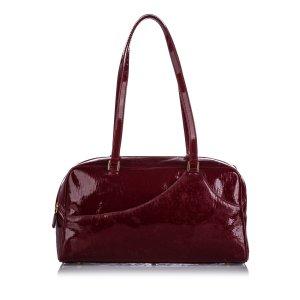 Dior Dior Oblique Patent Leather Shoulder Bag