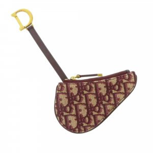 Dior Porte-clés bordeau