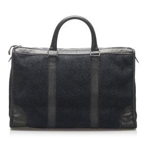 Dior Dior Oblique Suede Boston Bag