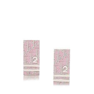 Dior Orecchino rosa pallido Metallo