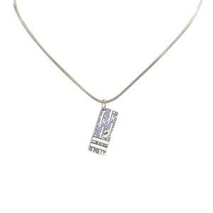 Dior Dior Oblique Trotter Pendant Necklace