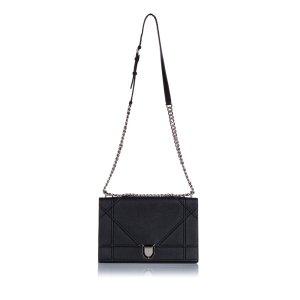 Dior Diorama Leather Shoulder Bag