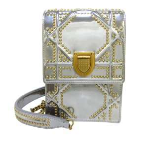Dior Diorama Patent Leather Crossbody Bag