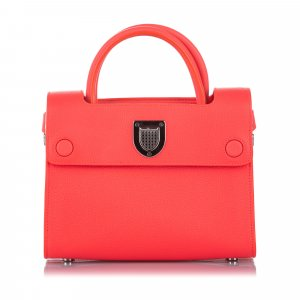 Dior Diorever Leather Satchel