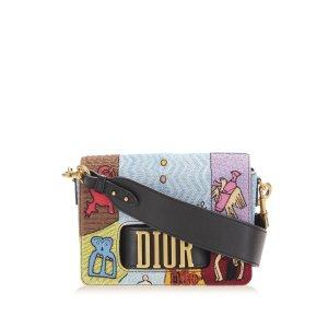 Dior Diorevolution Wheel of Fortune Motherpeace Tarot Leather Crossbody Bag