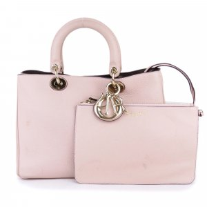 Dior Diorissimo Leather Satchel