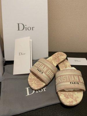 Christian Dior Sabot rosa pallido