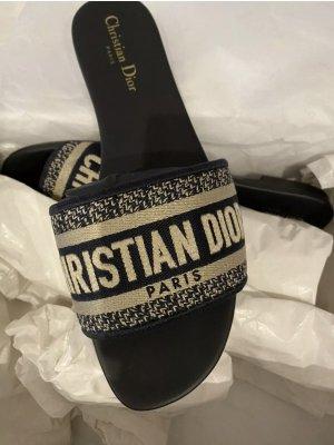 Christian Dior Strandsandalen veelkleurig