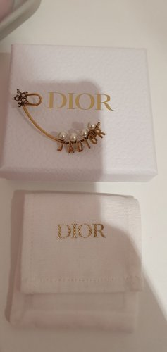 Dior Statement Earrings gold-colored