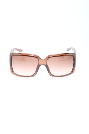 Dior Occhiale da sole spigoloso multicolore stile casual