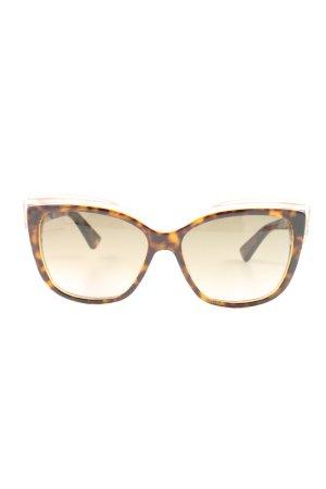 Dior Panto Glasses brown animal pattern elegant