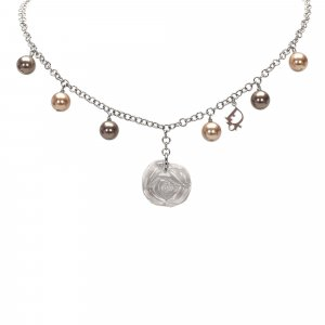 Dior Faux Pearl Necklace