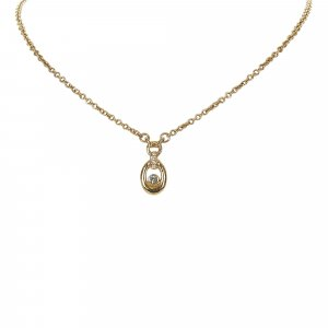 Dior Gold Tone Necklace