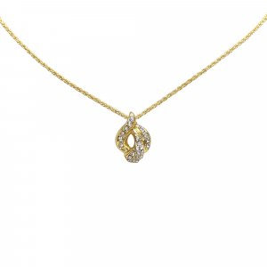 Dior Gold-Tone Pendant Necklace