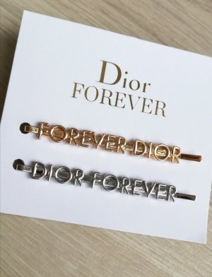Dior Hair Clip silver-colored-gold-colored