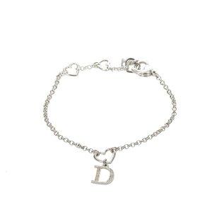 Dior Bracelet argenté métal