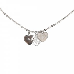 Dior Heart Pendant Necklace