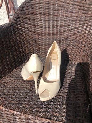 Dior High Heels natural white