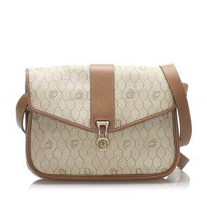 Dior Honeycomb Coated Canvas Crossbody Bag