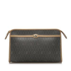 Dior Honeycomb PVC Clutch Bag