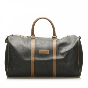Dior Travel Bag brown polyvinyl chloride